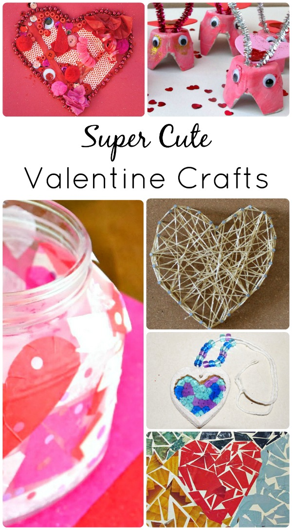 Super Cute Valentine Crafts - Fantastic Fun & Learning