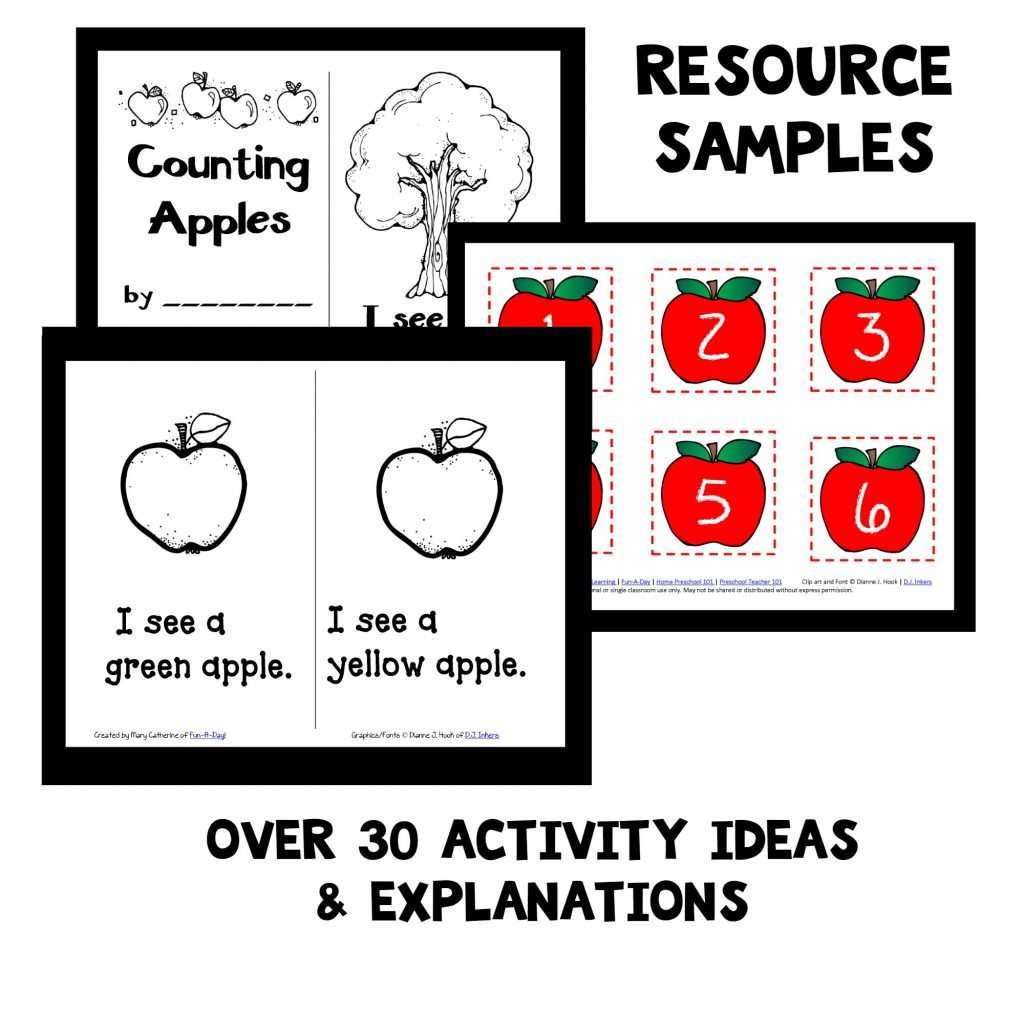Preschool Apple Theme Activities
