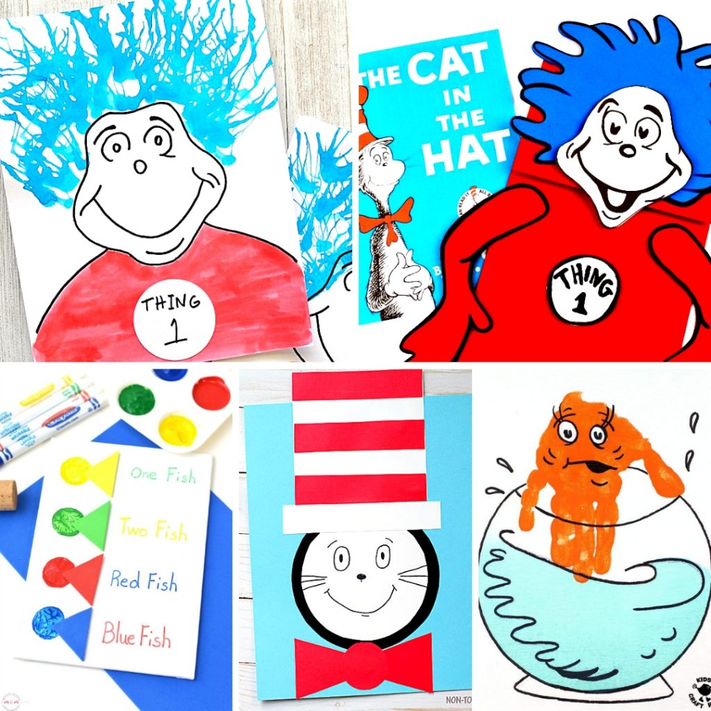 20 Dr Seuss Crafts And Art Projects