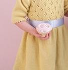Gul klänning barn