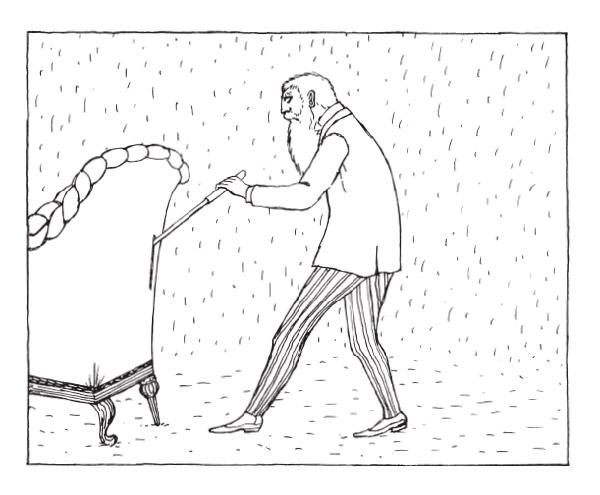 El Curioso Sofá / Edward Gorey