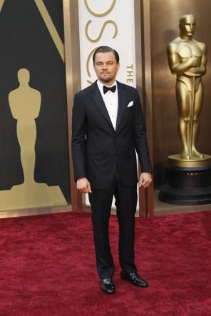 Leonardo DiCaprio @ Oscars 2014