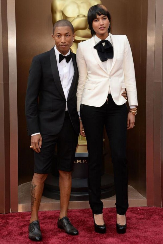 Pharrell Williams @ Oscars 2014