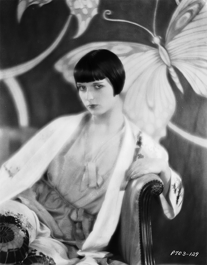 "Louise Brooks @ ""Irresistibles"""