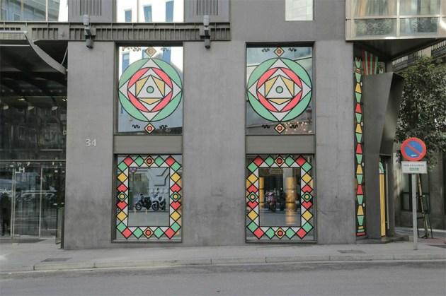 Tactelgraphics @ Hotel Urban (Madrid)