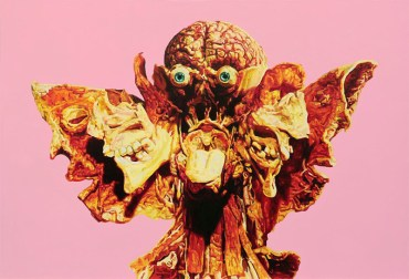 """Shit Behind Beauty"" de Javier Palacios @ Espai Tactel"