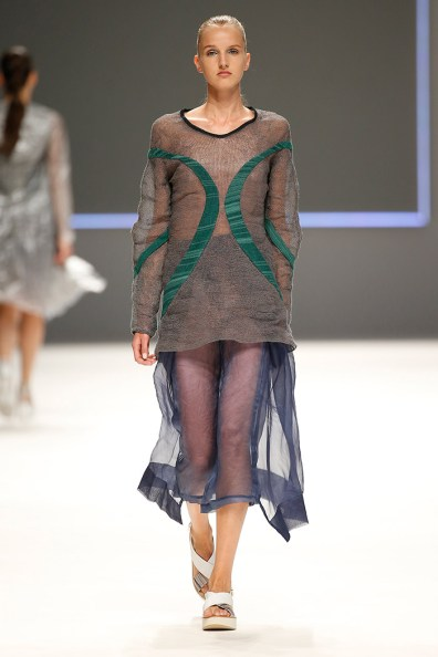 "Natalia Otero @ Modafad ""Project T"" (080 Barcelona Fashion)"