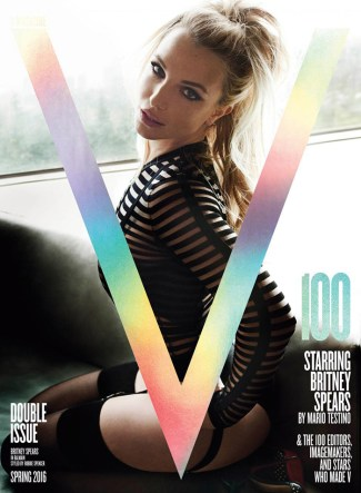 Britney Spears @ V Magazine (by Mario Testino)