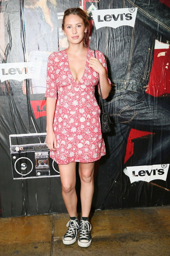 Dylan Penn @ Levi's 505 Launch Party