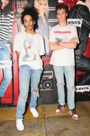 Luka Sabbat y Jonah Levine @ Levi's 505 Launch Party