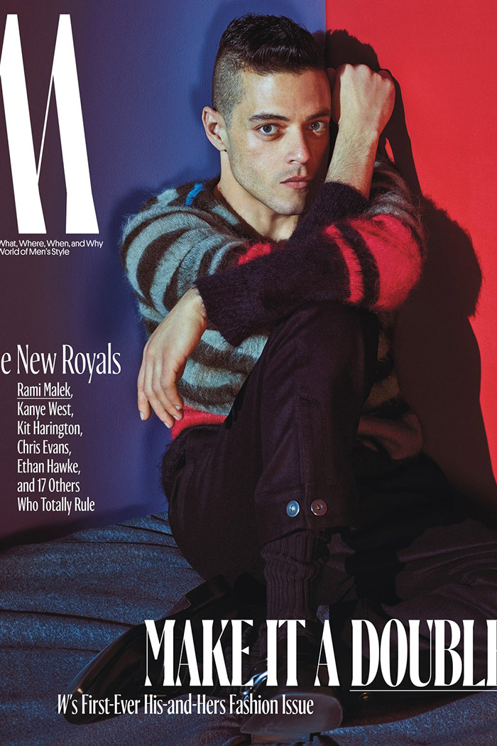 Rami Malek / New Royals @ W Magazine