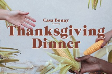 Casa Bonay Thanksgiving