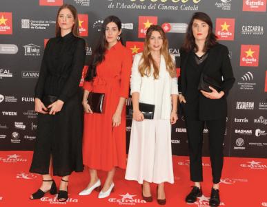 Alba Cros, Marta Verheyen, Laura Rius, Laia Alabart @ Gaudí 2017