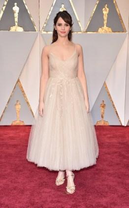 Felicity Jones @Oscars 2017