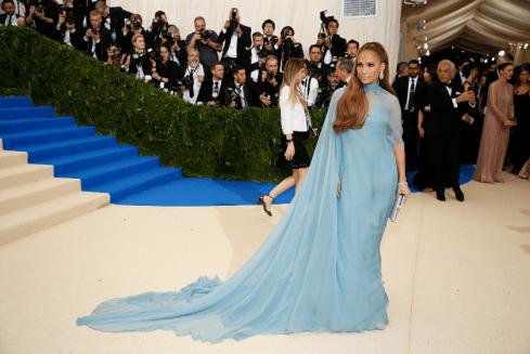 Jennifer Lopez @ Met Gala 2017