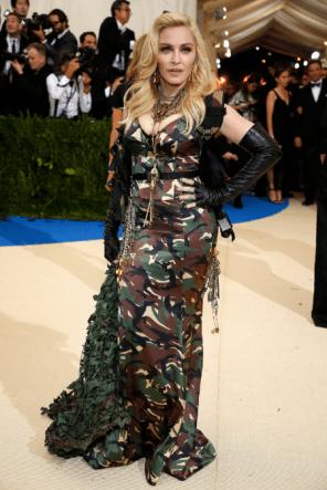 Madonna @ Met Gala 2017