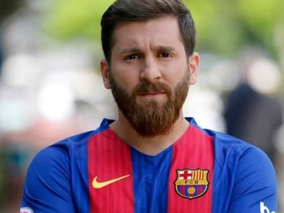 El doble de Leo Messi