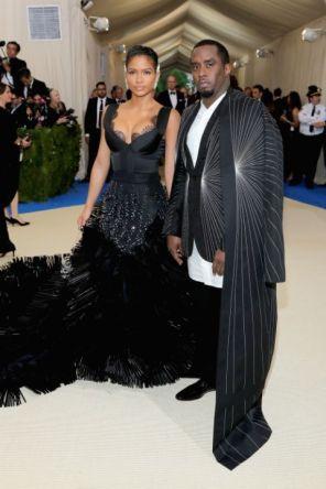 Cassie & Diddy Combs @ Met Gala 2017
