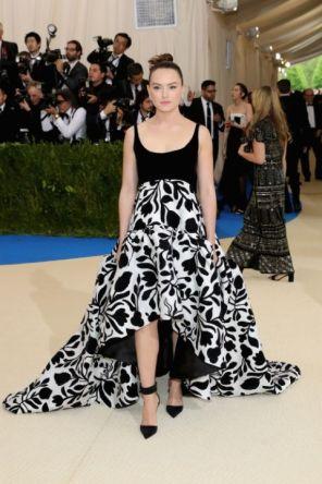 Daisy Ridley @ Met Gala 2017