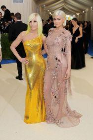 Donatella Versace & Kylie Jenner @ Met Gala 2017