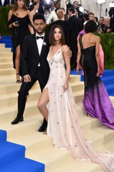 Selena Gomez & The Weeknd @ Met Gala 2017