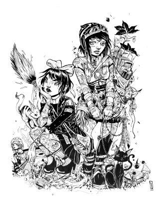 Lauren YS @ Miyazaki Art Show