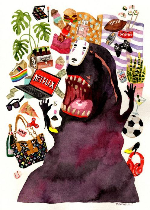 Marni Manning @ Miyazaki Art Show
