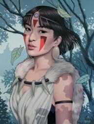 Sarah Joncas @ Miyazaki Art Show