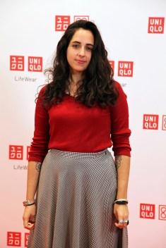 Amaia Arrazola @ UNIQLO Barcelona