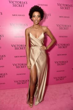 Alecia Morais @ Victoria's Secret Show 2017