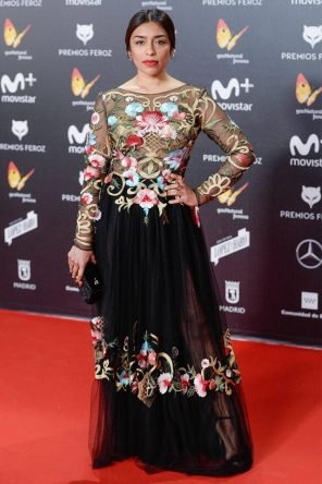 Adriana Paz (de Rubén Herández) @ Premios Feroz 2018