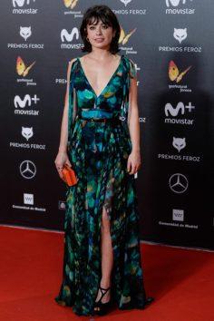 Anna Castillo (de Elie Saab) @ Premios Feroz 2018