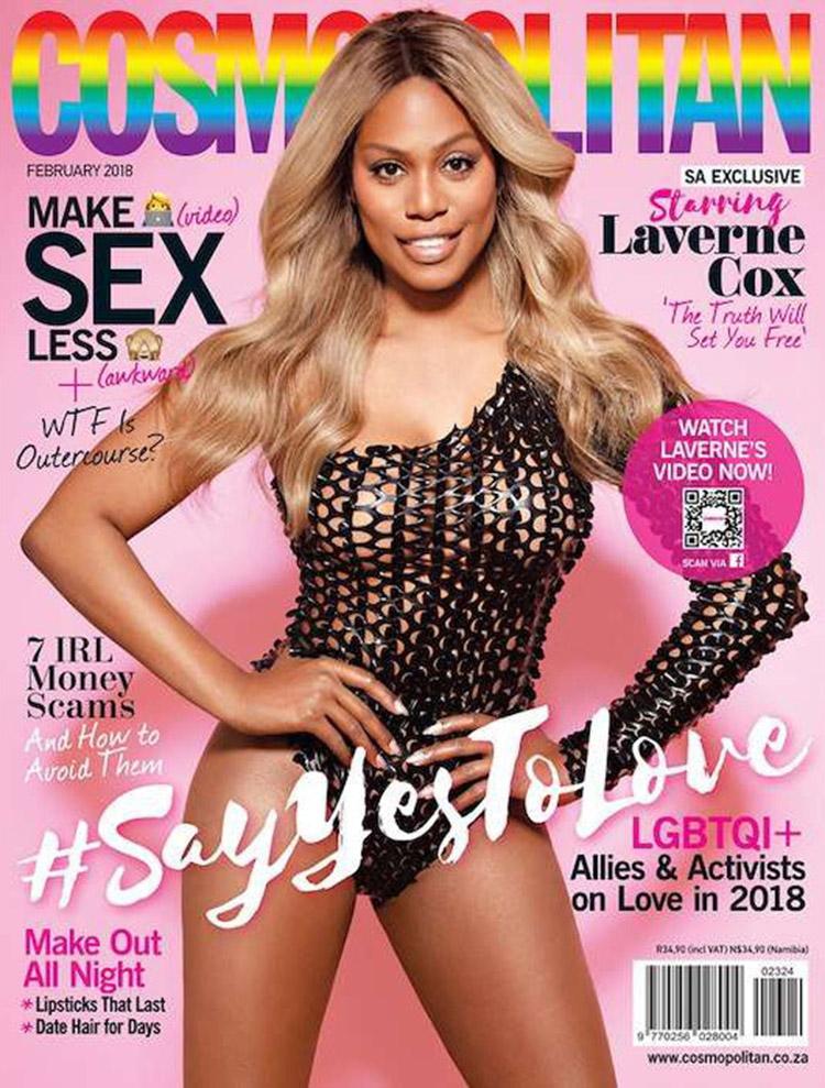 Laverne Cox @ Cosmopolitan