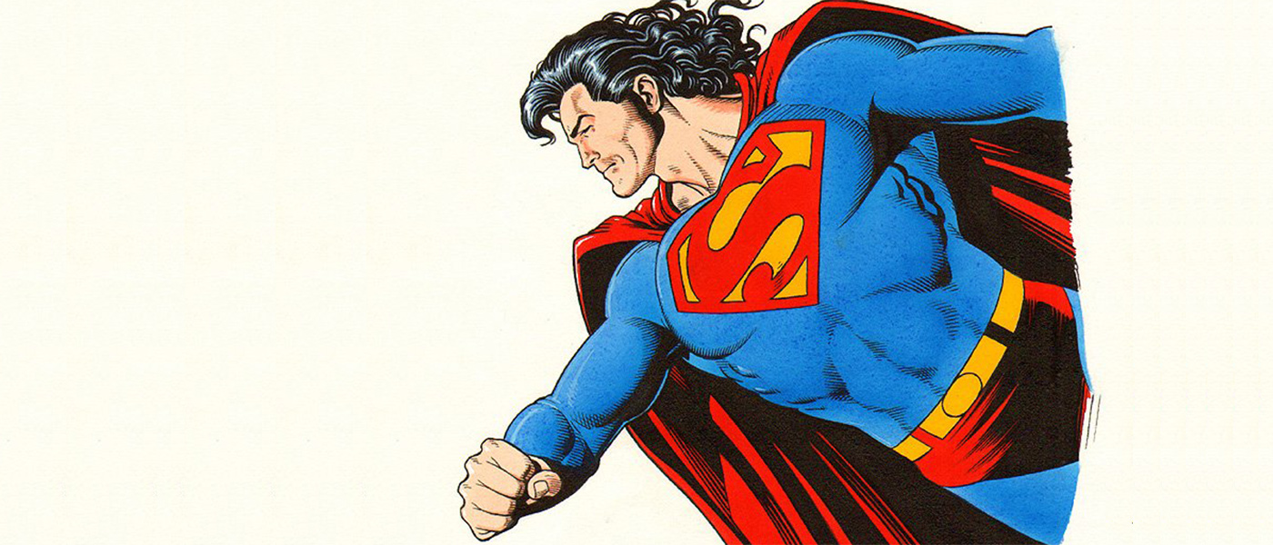 Superhéroes con mullets