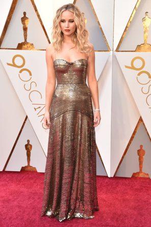 Jennifer Lawrence (Dior) @ Oscar 2018