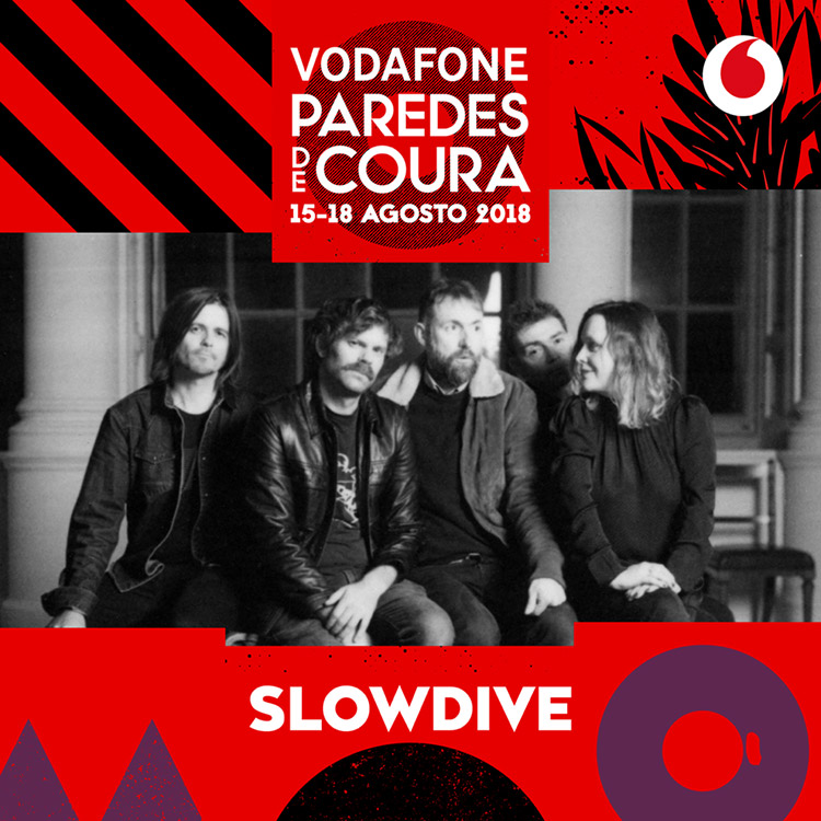Slowdive @ Paredes de Coura 2018