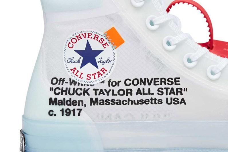 Converse x Virgil Abloh Chuck 70