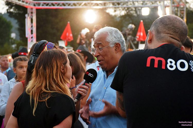 António Costa @ Vilar de Mouros 2018