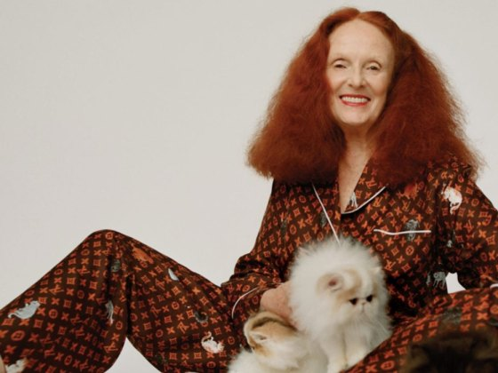 Grace Coddington x Louis Vuitton | Catogram
