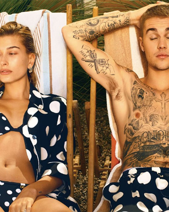 Hailey Baldwin y Justin Bieber @ Vogue