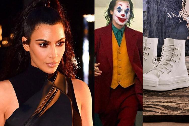 DOWN: Kim Kardashian, Joker, Ambus x Converse