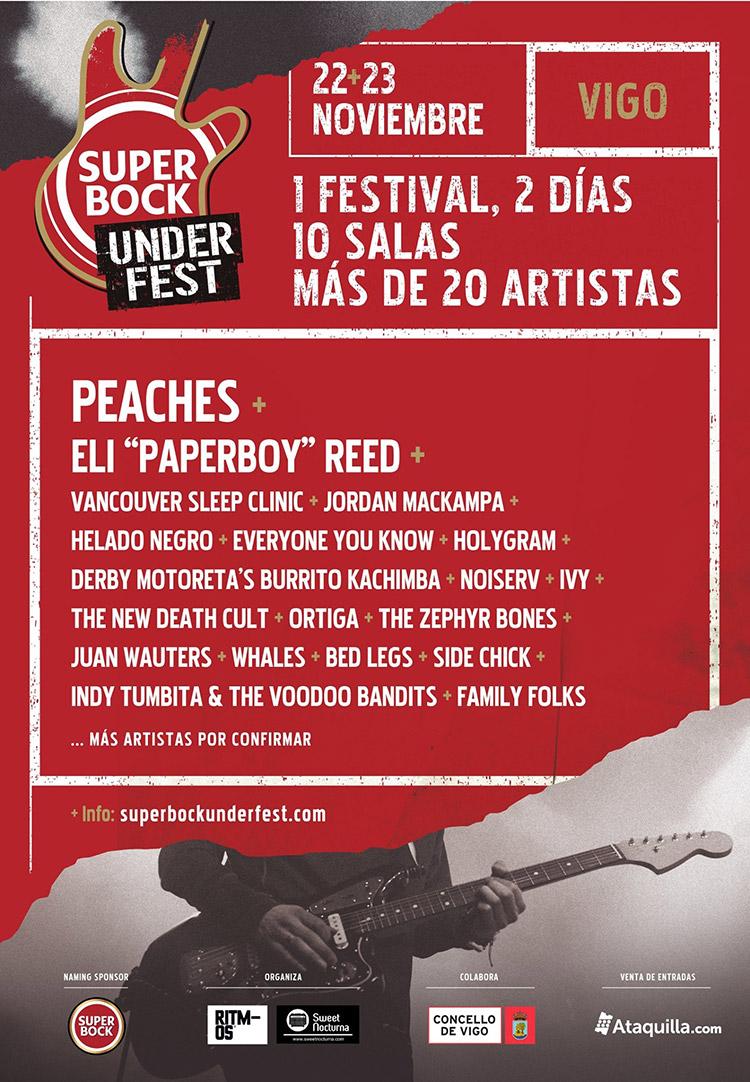 Super Bock Under Fest 2019 (cartel)