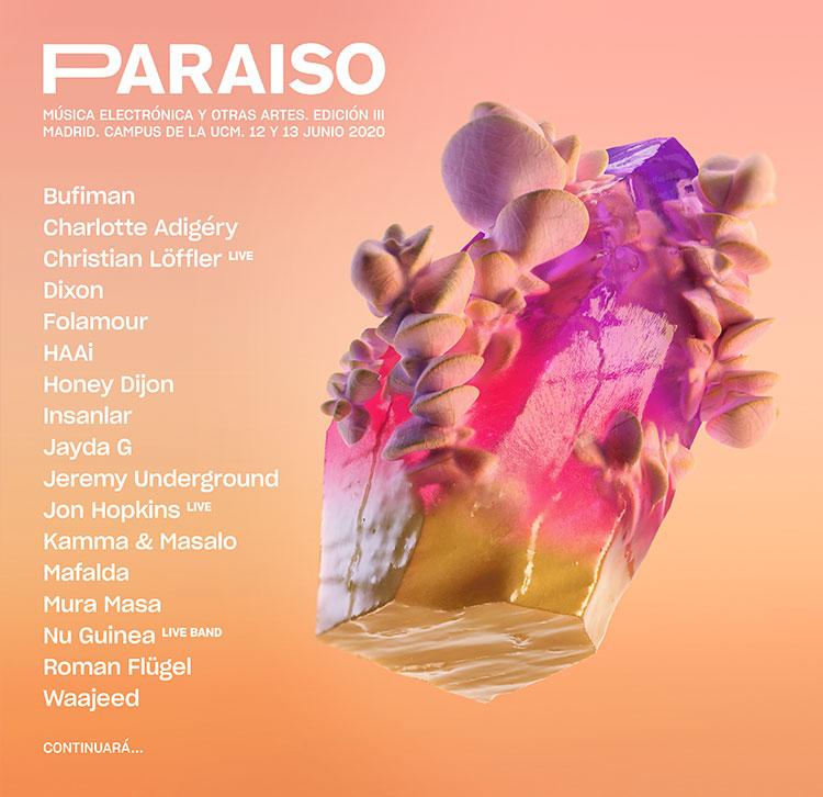 Paraíso 2020 (cartel)