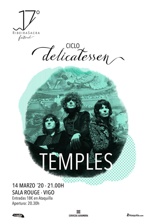 Temples @ 17º Ribeira Sacra Delicatessen