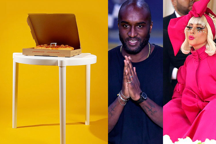 DOWN: Pizza Hut x IKEA, Virgil Abloh, MET Gala...