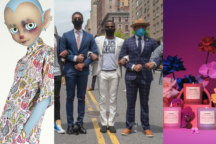 UP: HOSOI x CHARLI SMITS, Black Lives Matter, Boy Smells x Pride 2020...