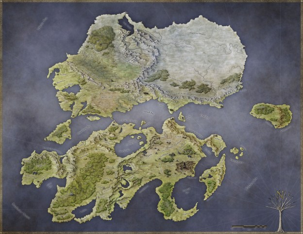 A walkthrough of my mapmaking process