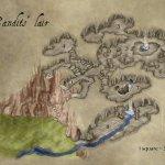 Bandit Lair Fantasy Map