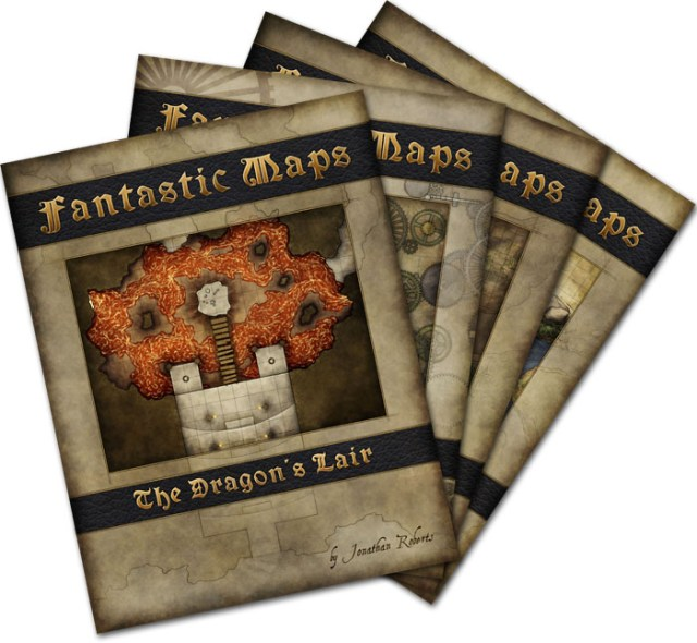 Fantasy map pack bundle for Black Friday sale.