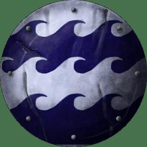 Triton crest for the Dark Warriors online fantasy RPG